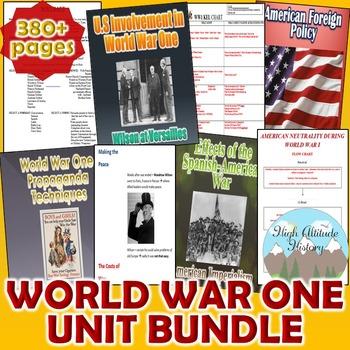World War 1 Unit / WWI *Unit Bundle* (World History / U.S.