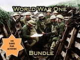 World War One (WWI) PowerPoint & Activity Bundle