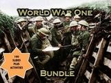 World War One (WWI) PowerPoint & Activity Bundle