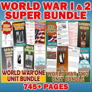 World War One (WWI) & World War Two (WWII) Super Bundle