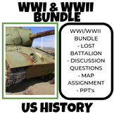 World War One & World War Two - Bundle (US History)