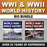 World War One WWI & World War Two WWII - Bundle (World History)