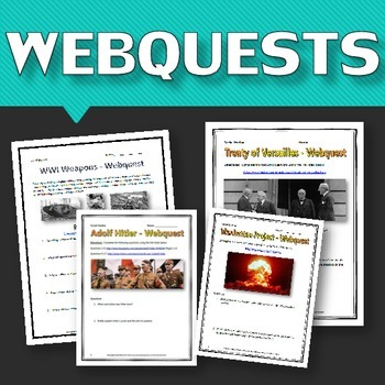World War One & World War Two - MEGA Resource Bundle (World History)