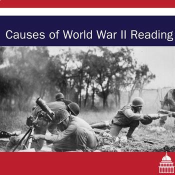 World War Two Causes Reading