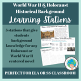 World War Two & Holocaust Historical Background Learning Stations