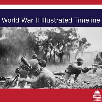 World War Two Illustrated Timeline