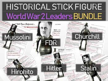 World War Two Leaders Churchill Stalin Hitler Mussolini Hi