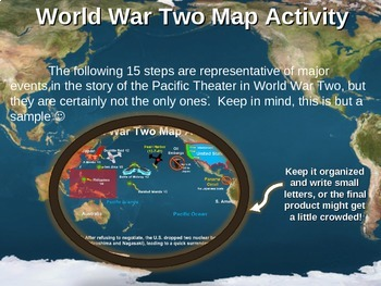 WWII) World War Two Map Ac... by Greg's Goods - Making History Fun ...