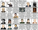 World War Two Match Game - Bill Burton