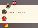 World War Two PowerPoint Lecture