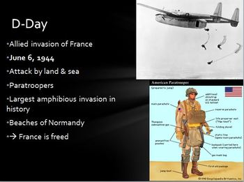 World War Two PowerPoint Lesson