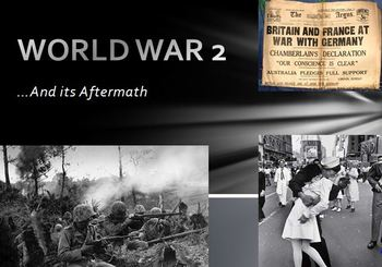 World War Two Presentation Project (Song, Poem, Children's