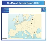 """World War 2 Smartboard Activity - """"The Road to War"""" - 1933 to 1939"""