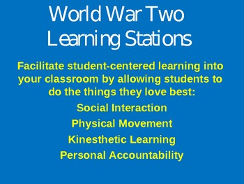World War Two Stations / WWII Stations