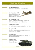 World War Two Timeline