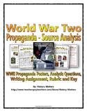 World War Two (WWII) - Analyzing Propaganda Source Analysis