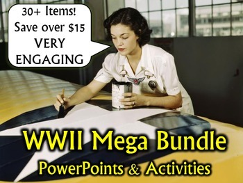 World War Two (WWII) MEGA Bundle