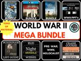 World War Two (WWII) MEGA Bundle World History & US History