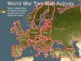 World War Two (WWII) Map Activity; EUROPEAN THEATER Fun, I