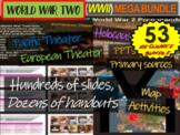 World War Two (WWII) Massive Bundle- 26 files: 16 docs, 10 PPTs, over 400 slides