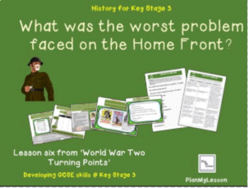 World War Two: 'What was the worst problem faced on the Home Front?'