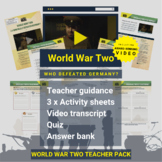 World War Two   Who Defeated Germany? Activity Pack and Aw