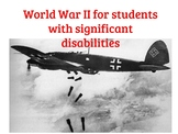 World War Two for students with special needs