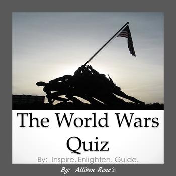 5th-8th Grade Texas World Wars Quiz