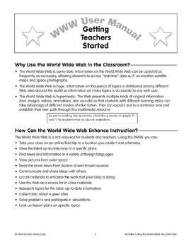 World Wide Web: Getting Teachers Started