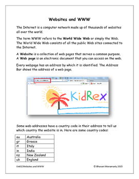 World Wide Web and Websites