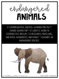 World Wildlife Service Learning Project (Endangered Animals Pack)