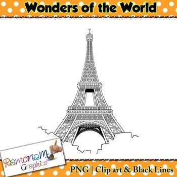 World Wonders Clip art