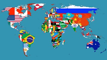 World maps which increase our global IQ