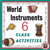 Music Instruments: World music: World Instrument Activities