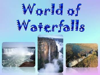 Waterfalls - Angel , Victoria , Niagara , Iguazu - PowerPo