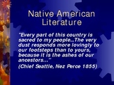 World on Turtle's Back - Iroquois - Native American Literature