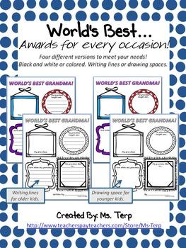 World's Best... Awards