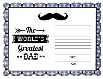 world s best dad certificates by early childhood resource center