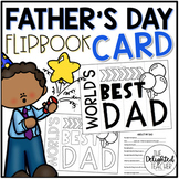 World's Best Dad Flipbook Father's Day Card
