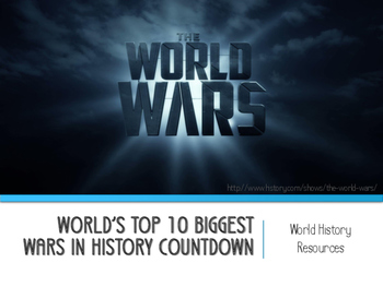 World's Top 10 Biggest Wars in History