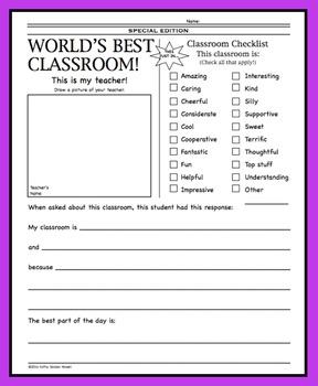 World's Best Classroom!