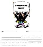 World's Greatest Homework Alert
