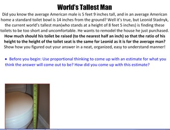 Worlds Tallest Man Proportions
