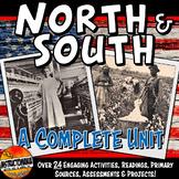 Worlds of North & South Complete Unit Pre-Civil War Lesson Plan Bundle