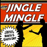 Worlds of North and South Unit Jingle Mingle Fun, Review Activity