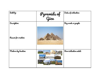 Worldwide Wonders of Ancient World - part 1