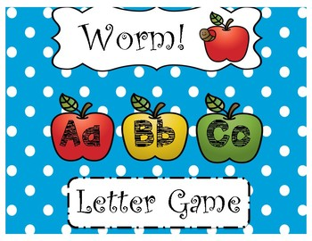 Worm!-ABC Letter Game
