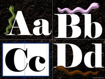 Worm Alphabet