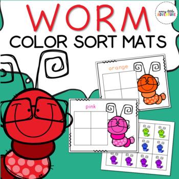 Worm Color Sort Mats