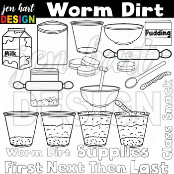 Worm Dirt Snack (Classroom Snack Pack 9)